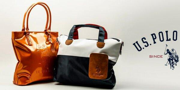 Originální dámské kabelky U.S. Polo - barevné, klasické i lakované