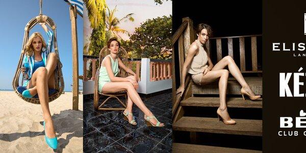 Dámské letní boty značek Betsy, Elisabeth a Keddo