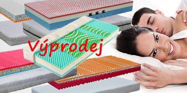Výprodej posledních kusů matrací - slevy až 70%