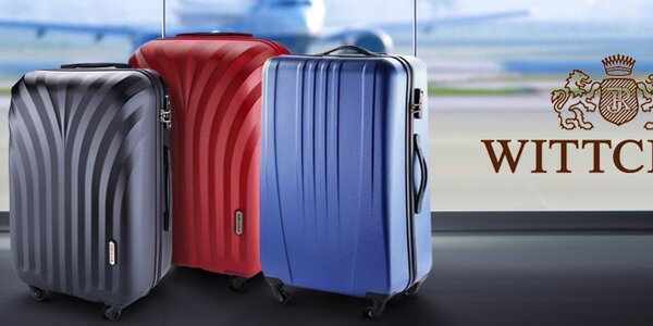 Praktické cestovní kufry Wittchen - dovolená bez starostí!