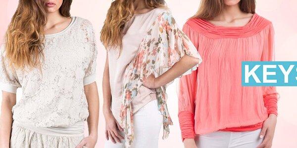 Italská móda Keysha - letní kousky z příjemných materiálů