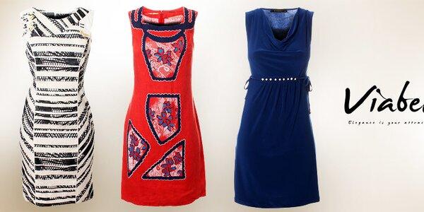 Dámské šaty Via Bellucci - italský šmrnc a elegance