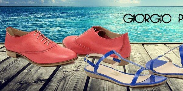 Dámská letní obuv Giorgio Picino - italská kvalita a styl