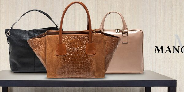 Mangotti - italské kožené kabelky pro každou příležitost