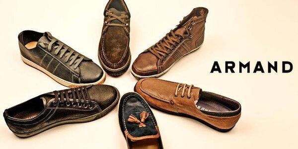 Originální španělská obuv pro pány Armand Basi