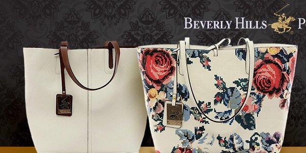 Krásné kabelky na nákupy i do kanceláře Beverly Hills Polo Club