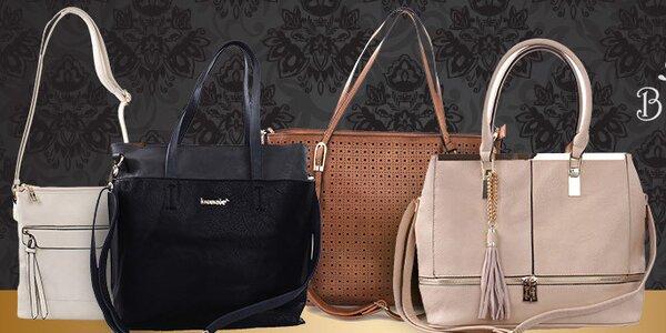 Trendy kabelky Bessie - do města i do kanceláře