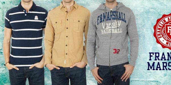 Franklin & Marshall - stylová pánská móda pro každý den