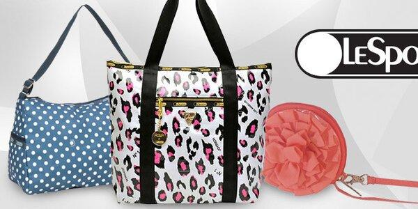 Barevné kabelky, tašky a peněženky LeSportSac