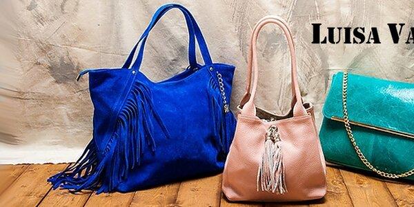 Luxusní kožené tašky a kabelky Luisa Vannini