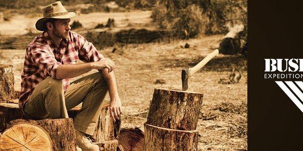 Pohodová pánská outdoorová móda Bushman