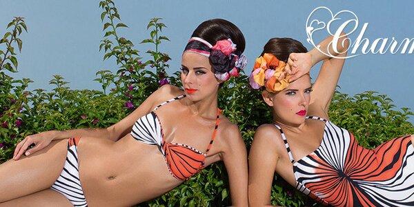 Luxusní výbava na pláž - plavky, sukně a tuniky Charmante