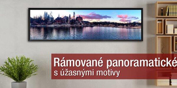 Úžasné panoramatické obrazy s rámem