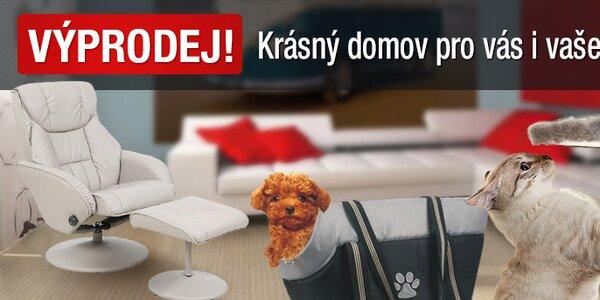 VÝPRODEJ! Pohodlný domov pro vás i vaše mazlíčky