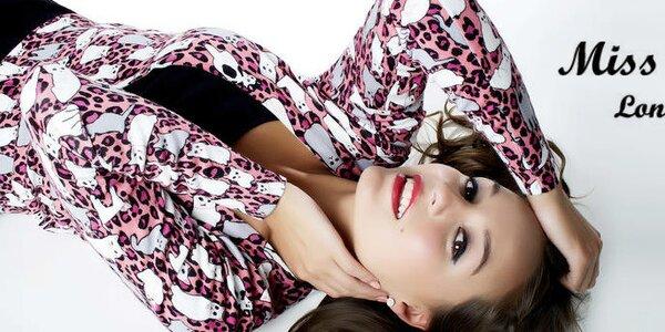 Originální dámská móda s vtipnými potisky Miss Jolie