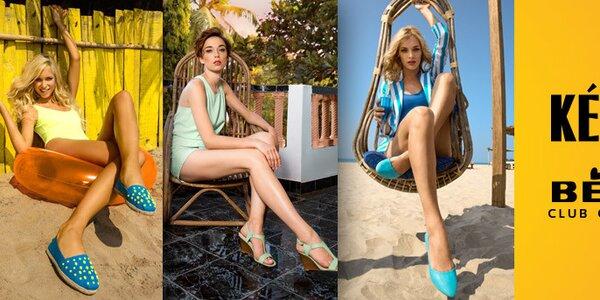 Dámské letní boty oblíbených značek Keddo a Betsy