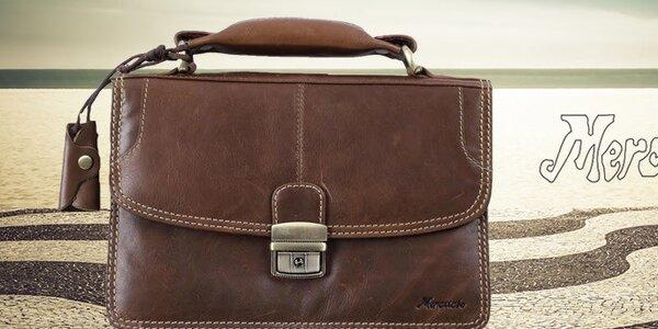 Kvalitní kožené pánské tašky Mercucio