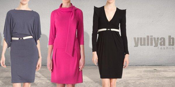 Sofistikované designové šaty pro dámy Yuliya Babich