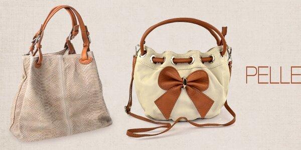 Pelleteria - elegantní kožené kabelky pro každodenní nošení