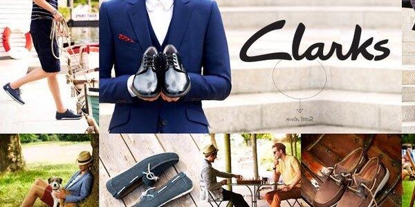 Pánské boty Clarks - kvalitní kožené boty z Anglie