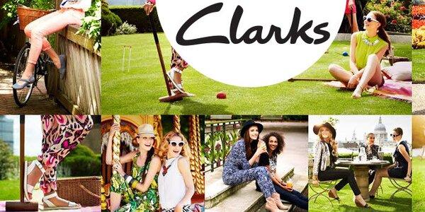 Dámské boty Clarks - kvalitní kožené boty z Anglie