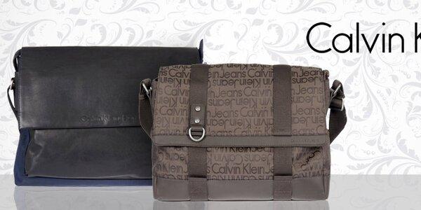 Sportovně elegantní pánské tašky Calvin Klein