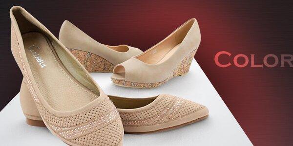 Stylové letní botičky pro dámy a slečny Colorful