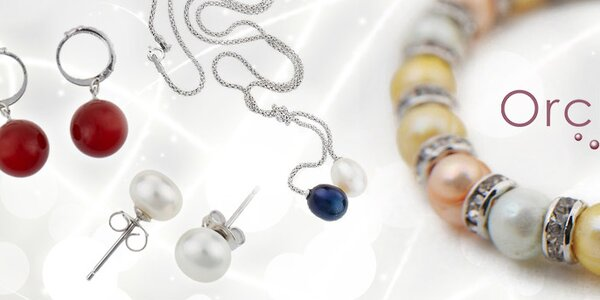 Nádherné perlové šperky pro ženy Orchira