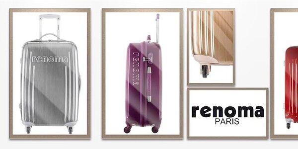 Cestovní kufry Renoma - bezpečné, prostorné a stylové
