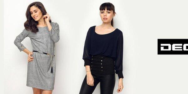 Deck - elegantní halenky, šaty a topy pro moderní ženu