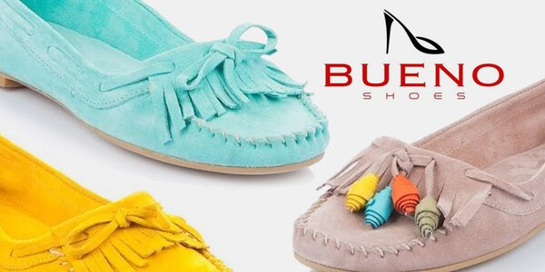 Pohodové kožené mokasíny a loafers Bueno