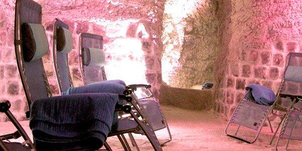 Zdravá relaxace v solné jeskyni na 45 minut
