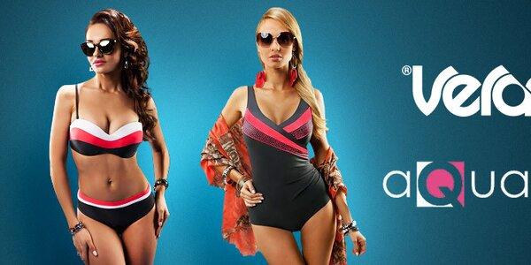 Elegantní dámské plavky značek Aquarilla a Verano