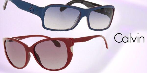 Dámské barevné sluneční brýle Calvin Klein