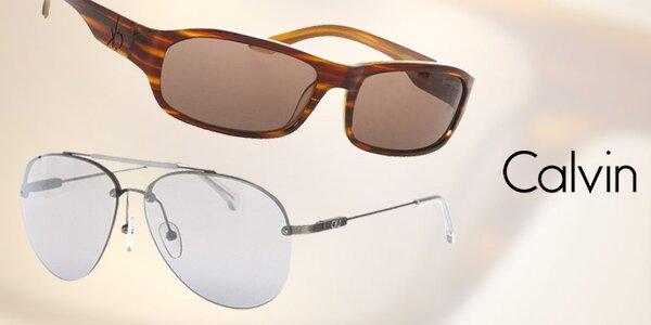 Pánské barevné sluneční brýle Calvin Klein
