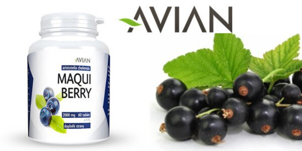 60 tablet antioxidantu Maqui Berry