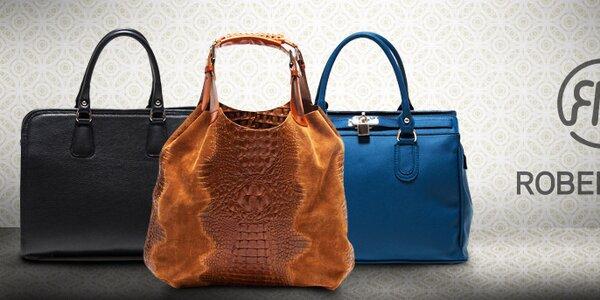 Elegantní kožené kabelky Roberta Minelli