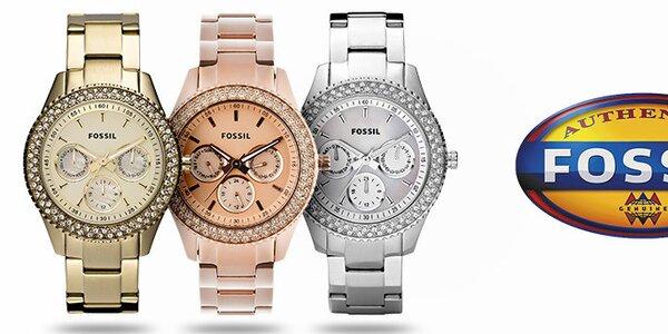 Designové šperky a hodinky pro dámy Fossil