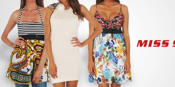 Oblečení, boty a doplňky oblíbené značky Miss Sixty