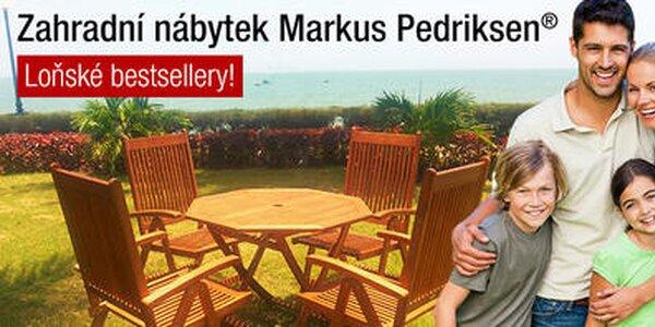 Stylový eukalyptový zahradní nábytek Markus Pedriksen®