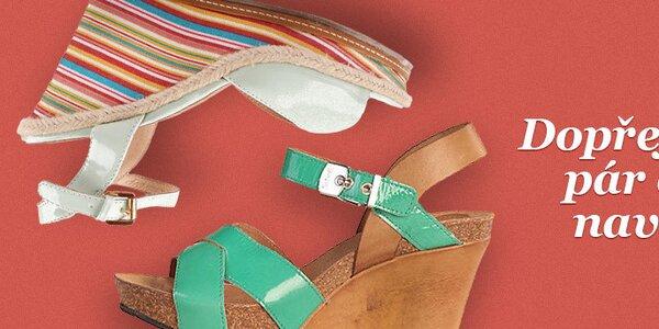 Dámské sandály na vysokém podpatku - VŠE SKLADEM