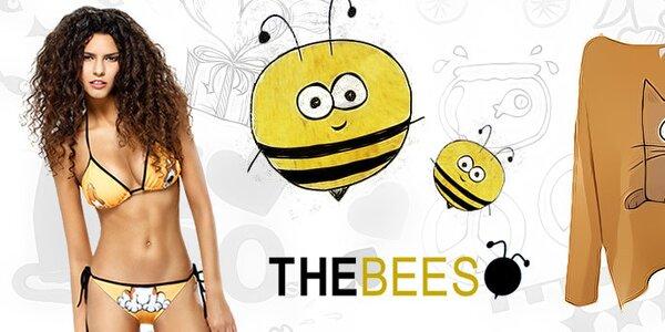 Dámské veselé plavky a oblečení s vtipnými potisky The Bees
