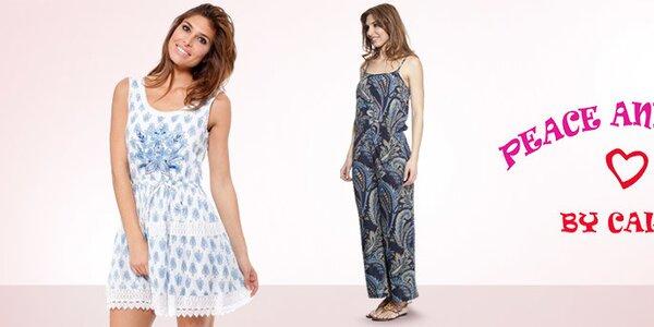 Španělská letní móda plná barev a vzorů Peace&Love