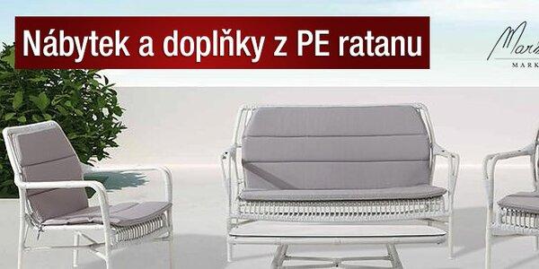 Luxusní nábytek a doplňky Markus Pedriksen® z umělého ratanu