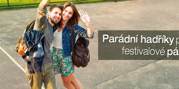Pánské oblečení a doplňky na letní hudební festivaly skladem již od 269,-
