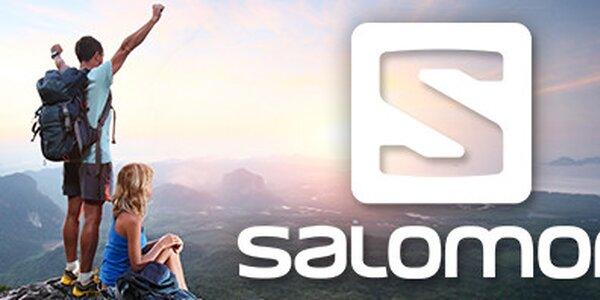 Sezónní výprodej oblečení a obuvi značky Salomon pro muže i ženy