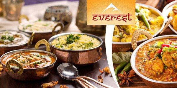 40% sleva na exotická jídla indické a nepálské kuchyně