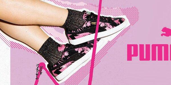Stylové dámské boty a oblečení Puma