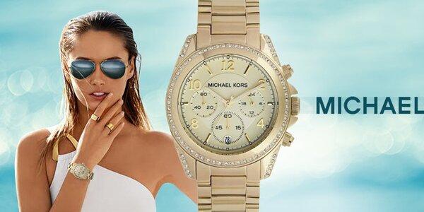 Dámy, potěšte se luxusními hodinkami Michael Kors
