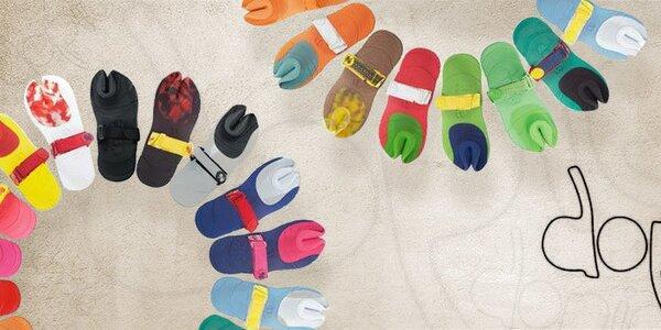 Revoluční barevné sandály Dopie